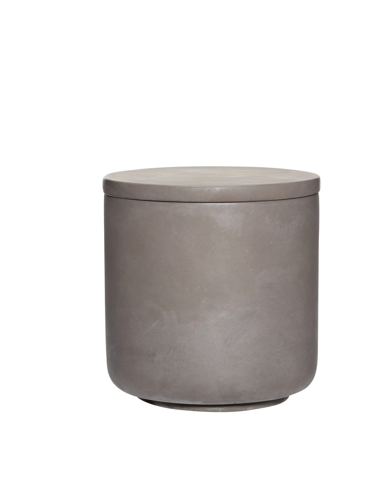Set Voorraadpotten met deksel concrete-brown/light grey/dark grey