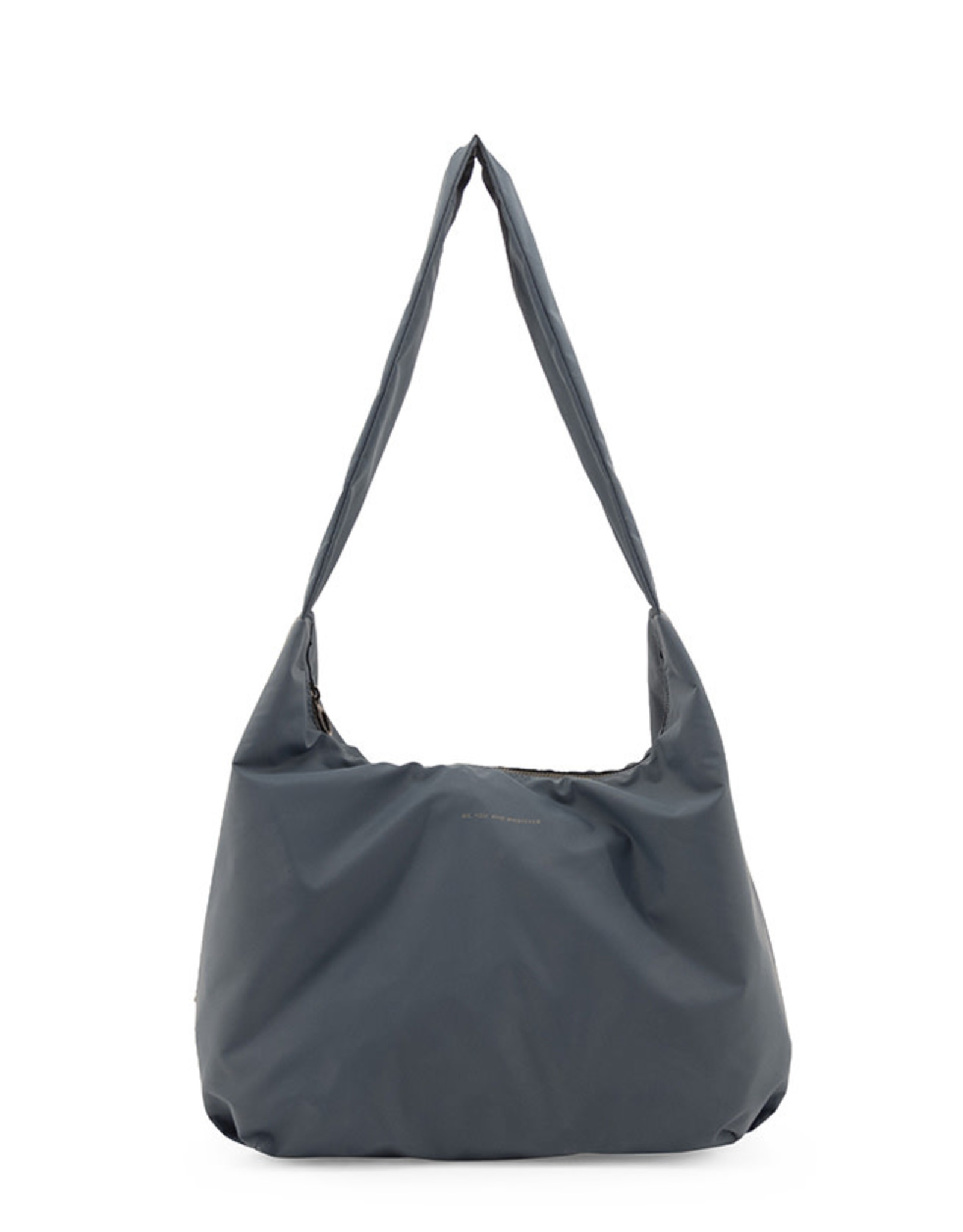 Tinne+Mia Cato Bold Crossover Bag with quote-petrol