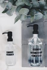 Wellmark Giftbox Stay Safe-helder glas handzeep 500ml & sanitiser 250ml