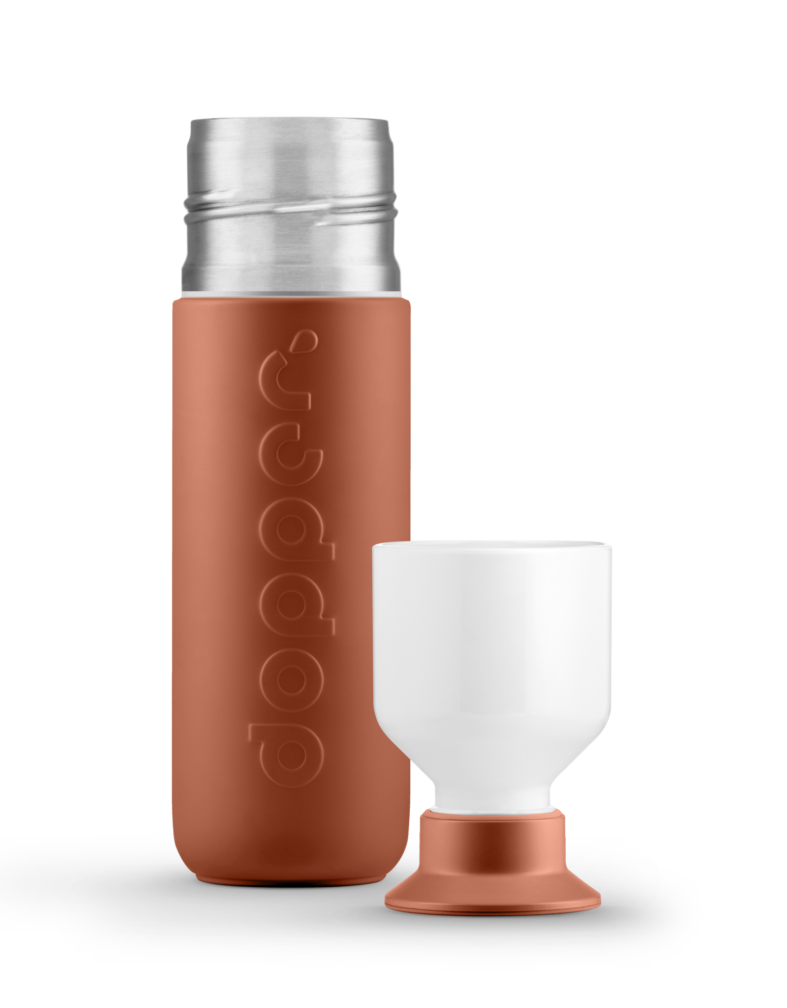Dopper Dopper HOT&COOL insulated 350ml-terracotta tide