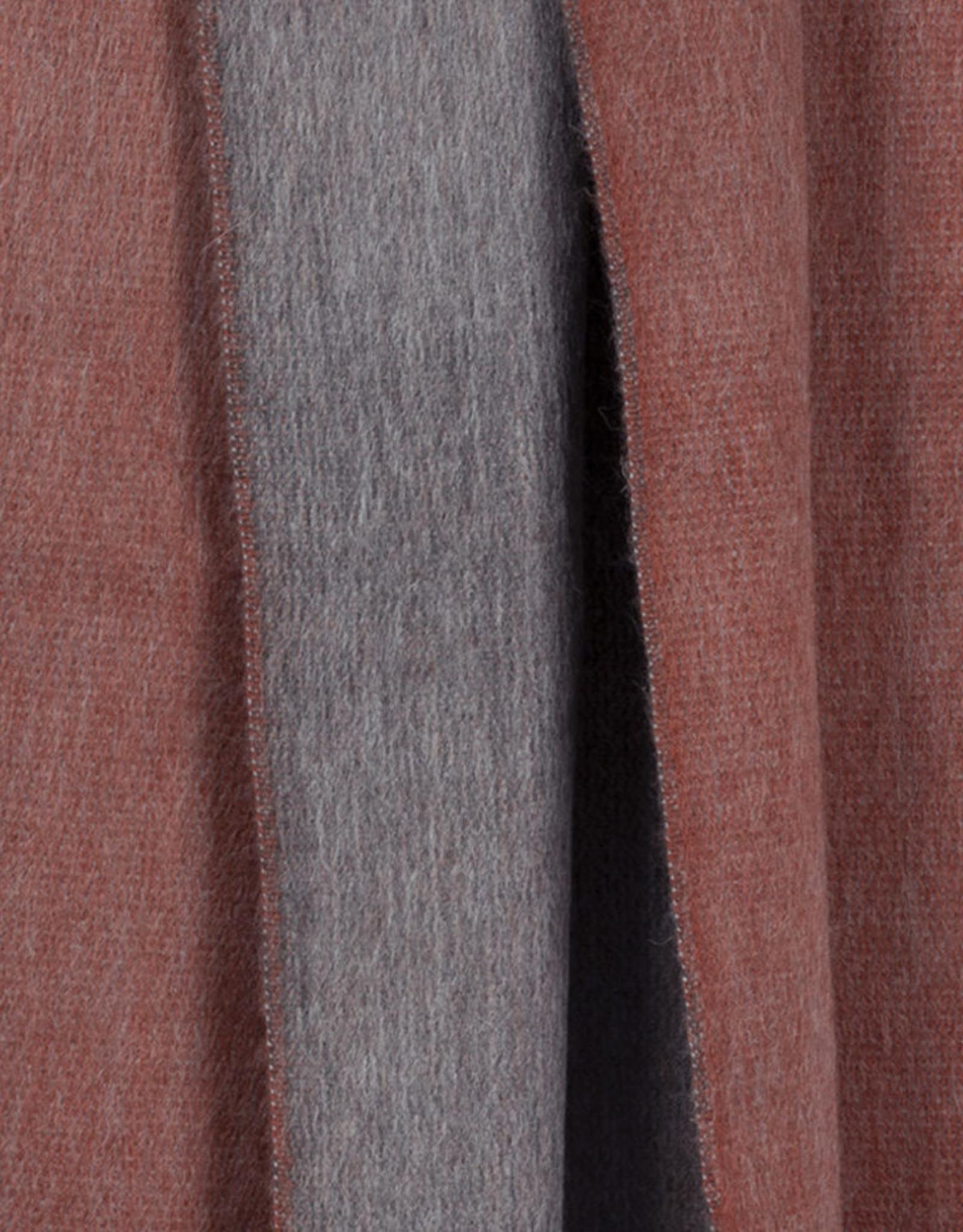 Bufandy Alpaca sjaal Doble-terra roza