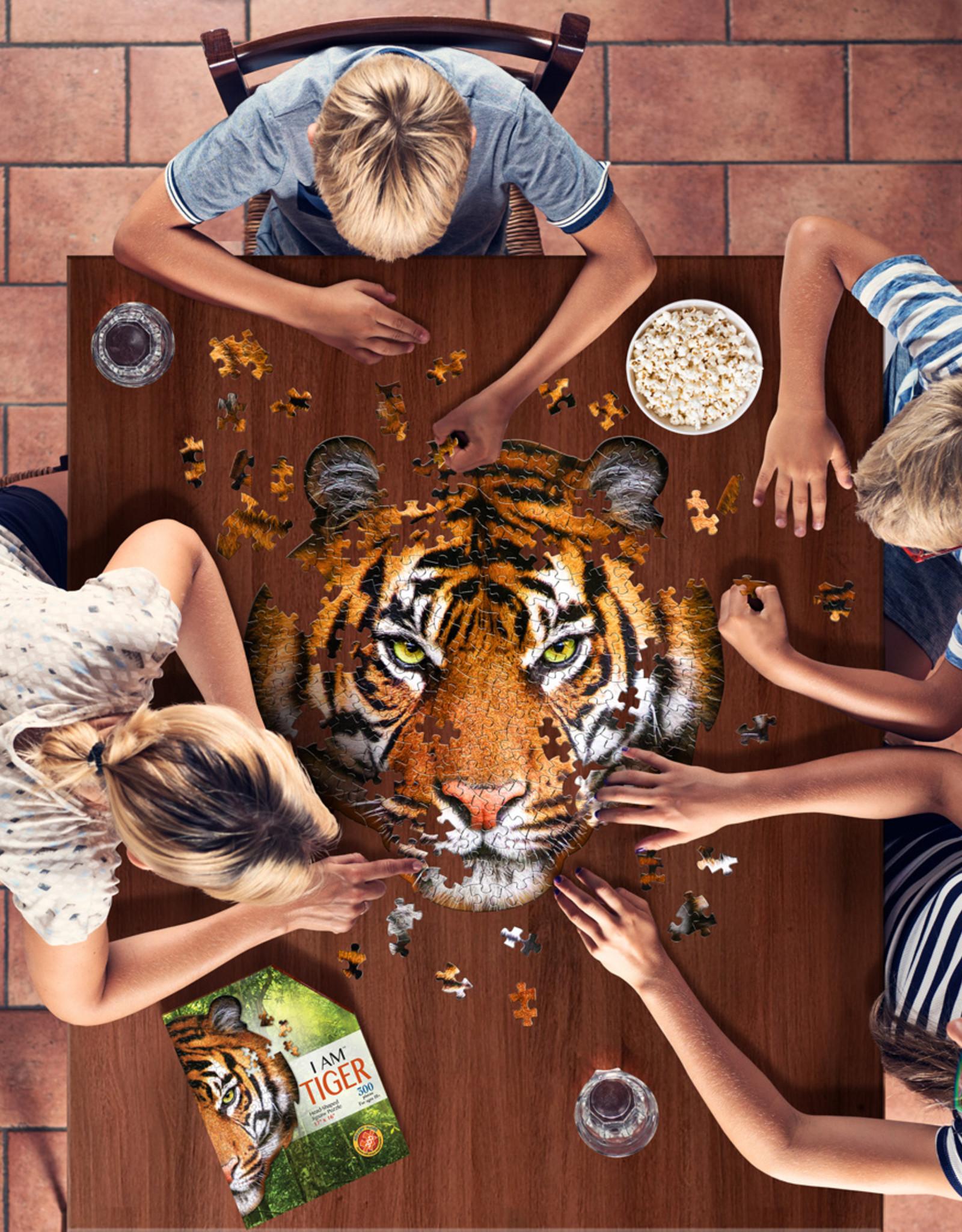 Puzzel I'am Tijger 10jaar-550pcs.