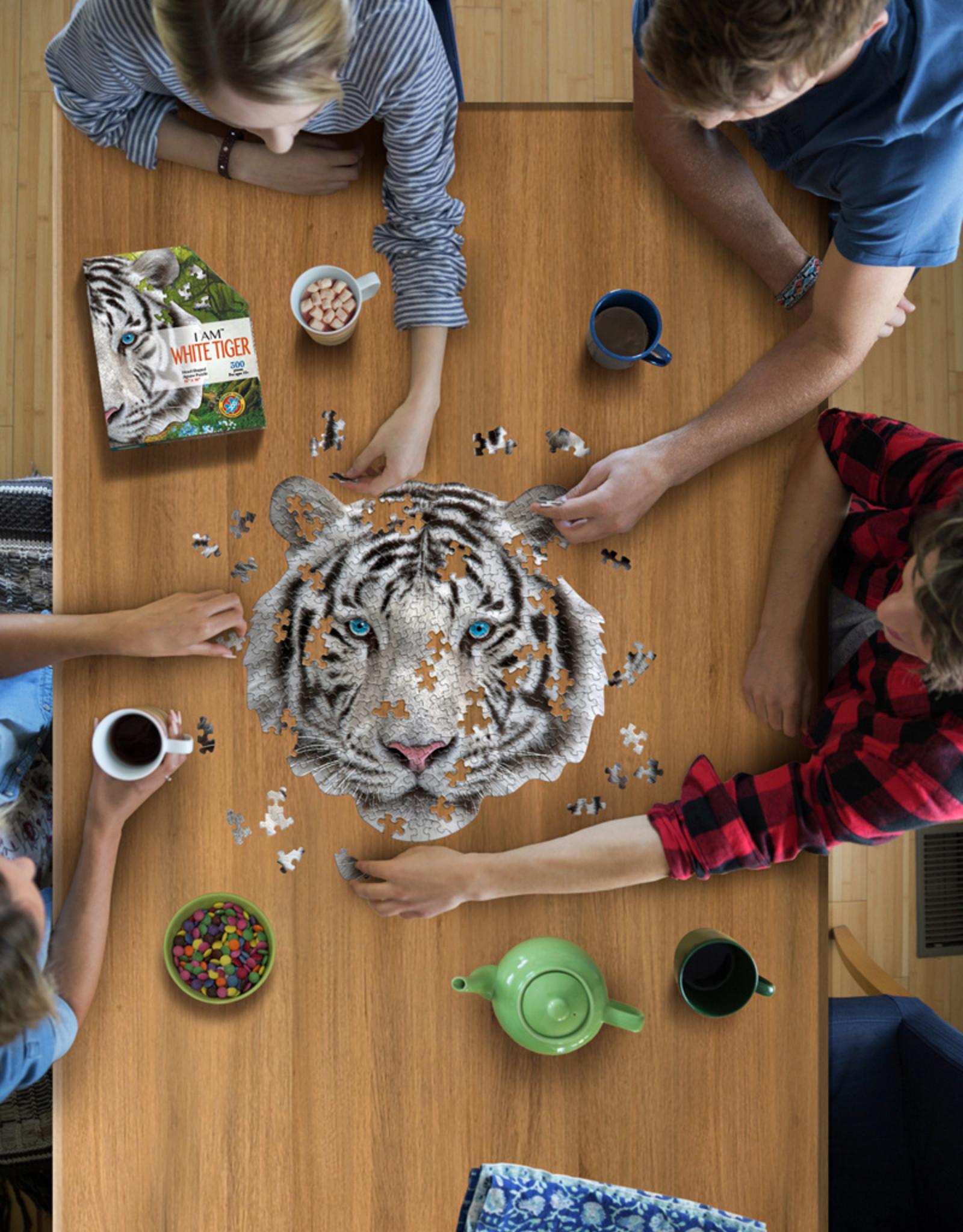 Puzzel I'am Witte Tijger 10jaar-300pcs.