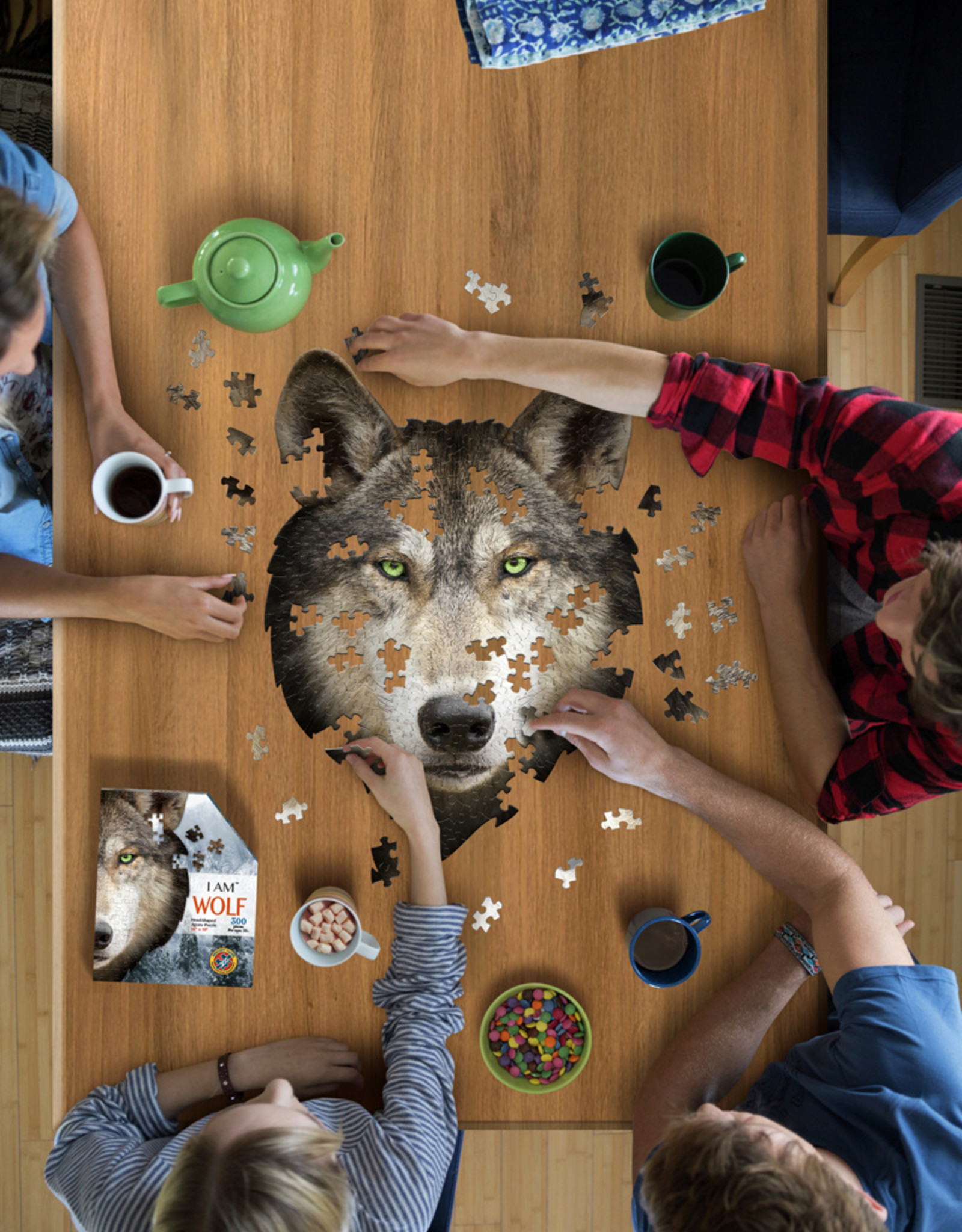 Puzzel I'am Wolf 10jaar-300pcs.