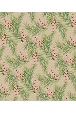 Servet Mistletoe 33x33cm-beige
