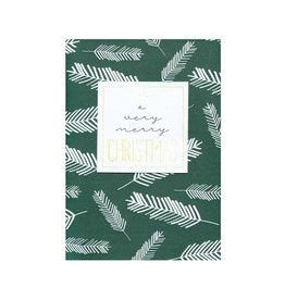 Räder Wenskaart A very Merry Christmas-pine green