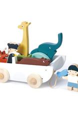 De vriendschapsboot Dieren-eco rubberwood