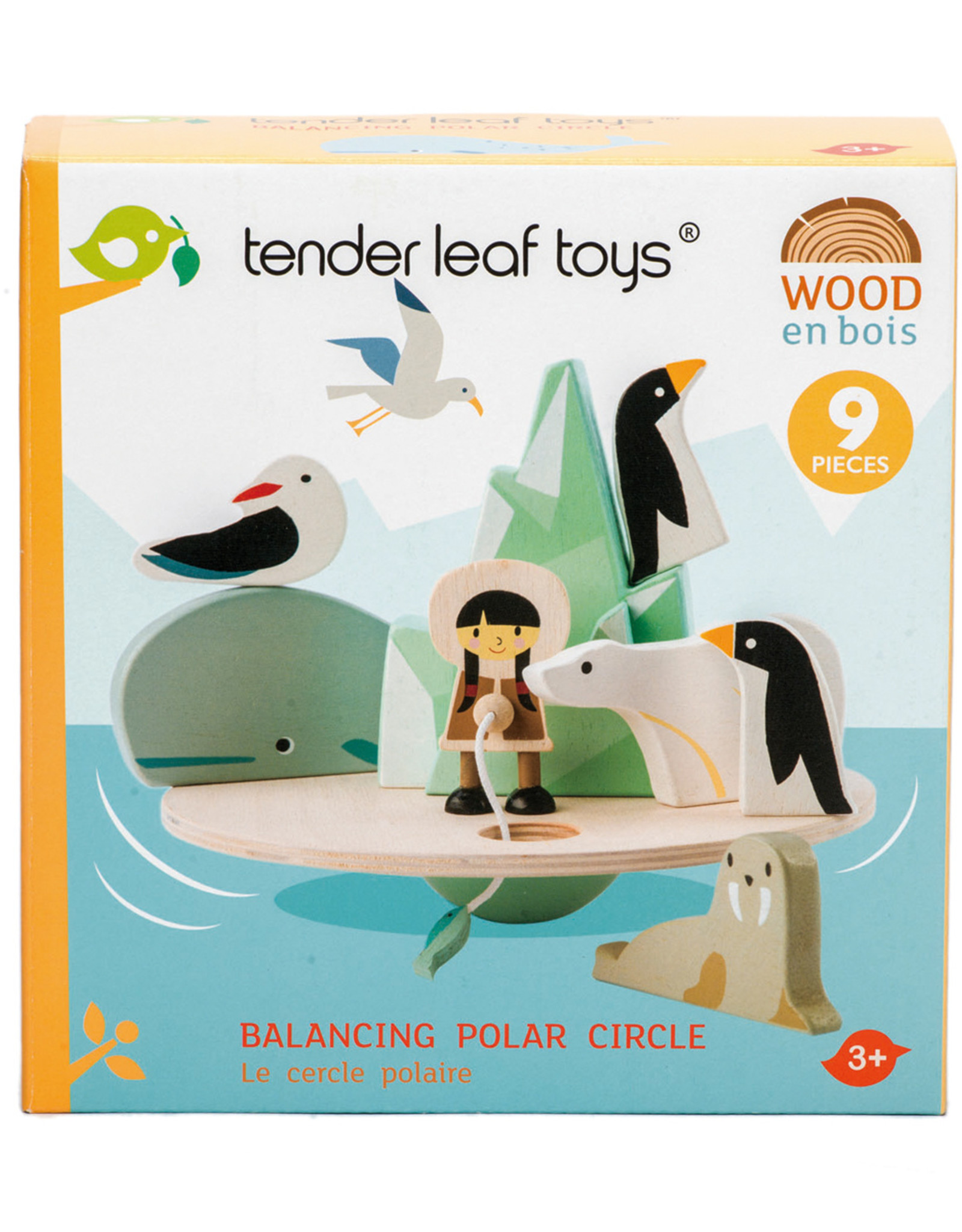 Balancerende Poolcirkel-eco rubberwood