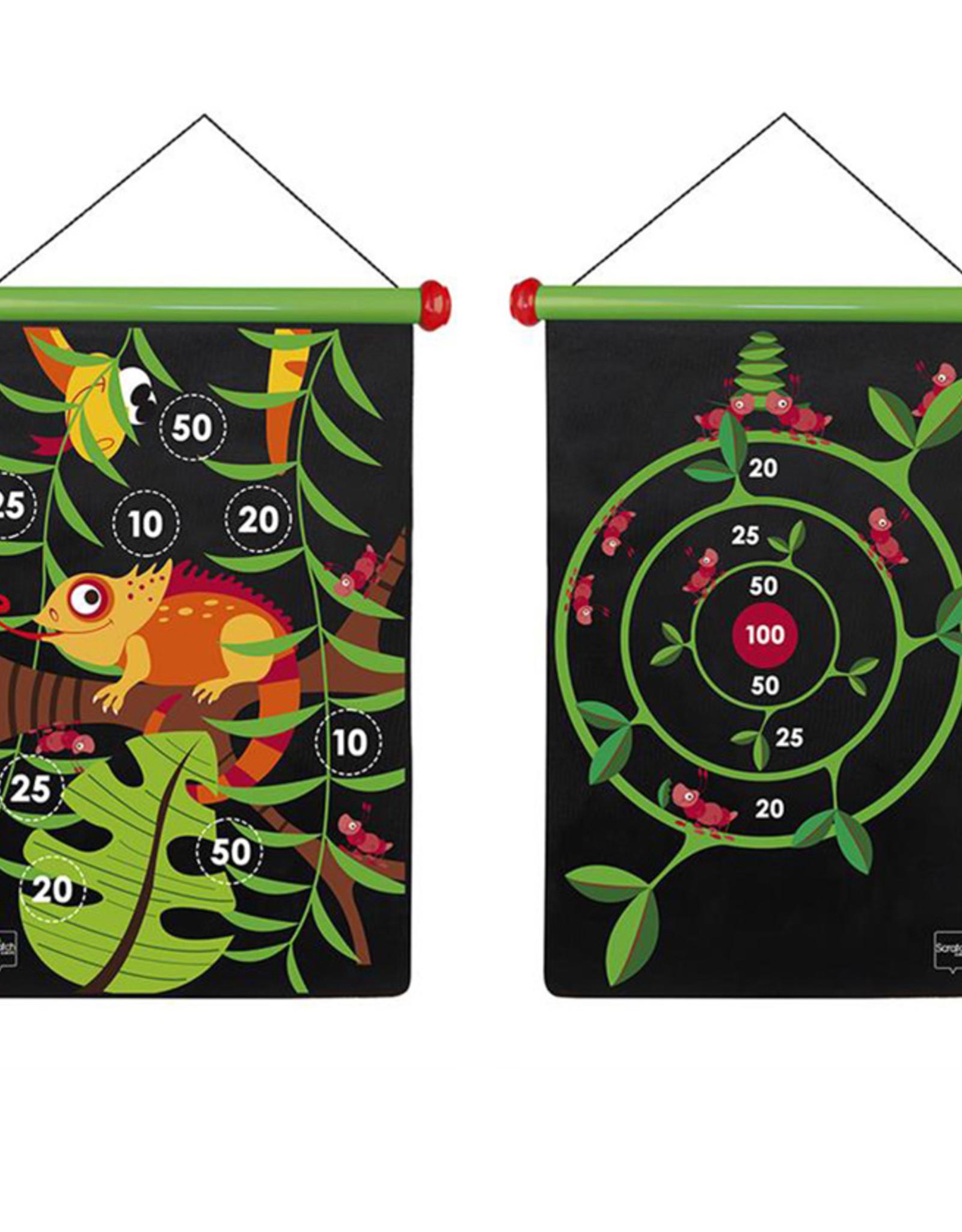 Magnetic Darts Game-jungle