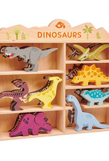 SET Dino's-eco rubberwood