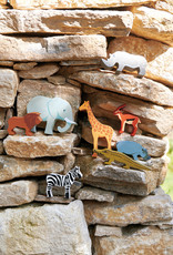 SET Safaridieren-eco rubberwood