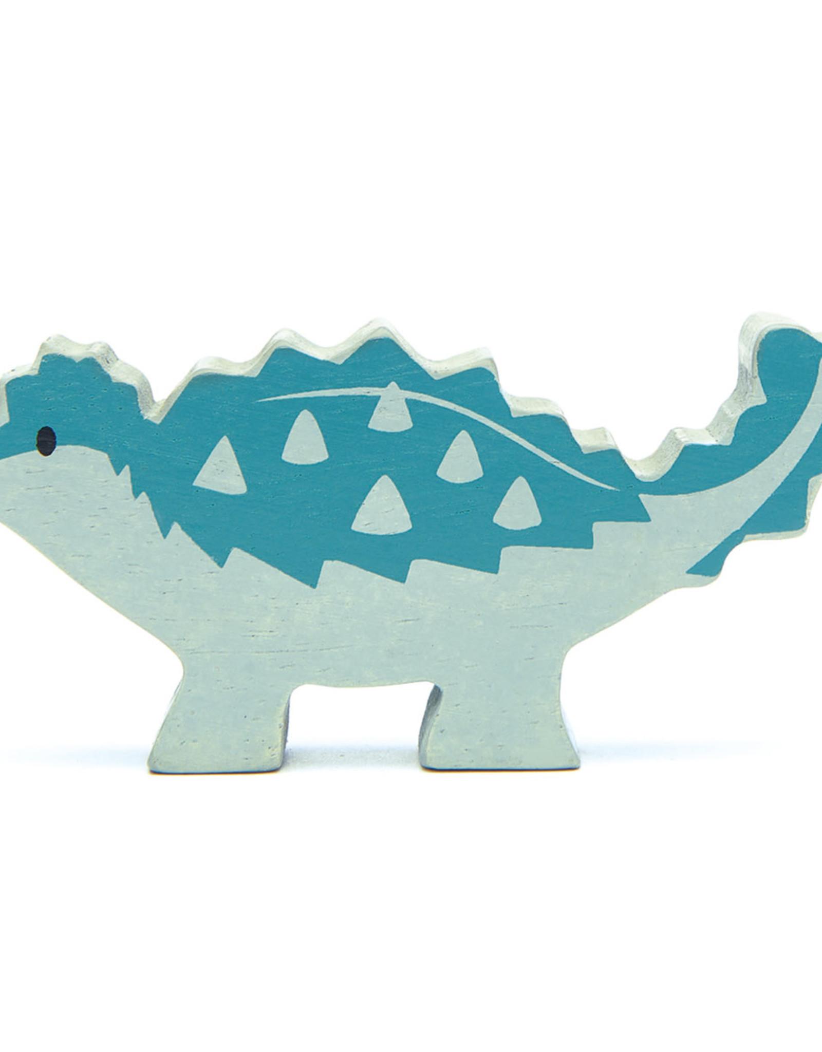 Dino Ankylosaurus-eco rubberwood