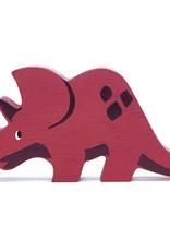 Dino Triceratops-eco rubberwood