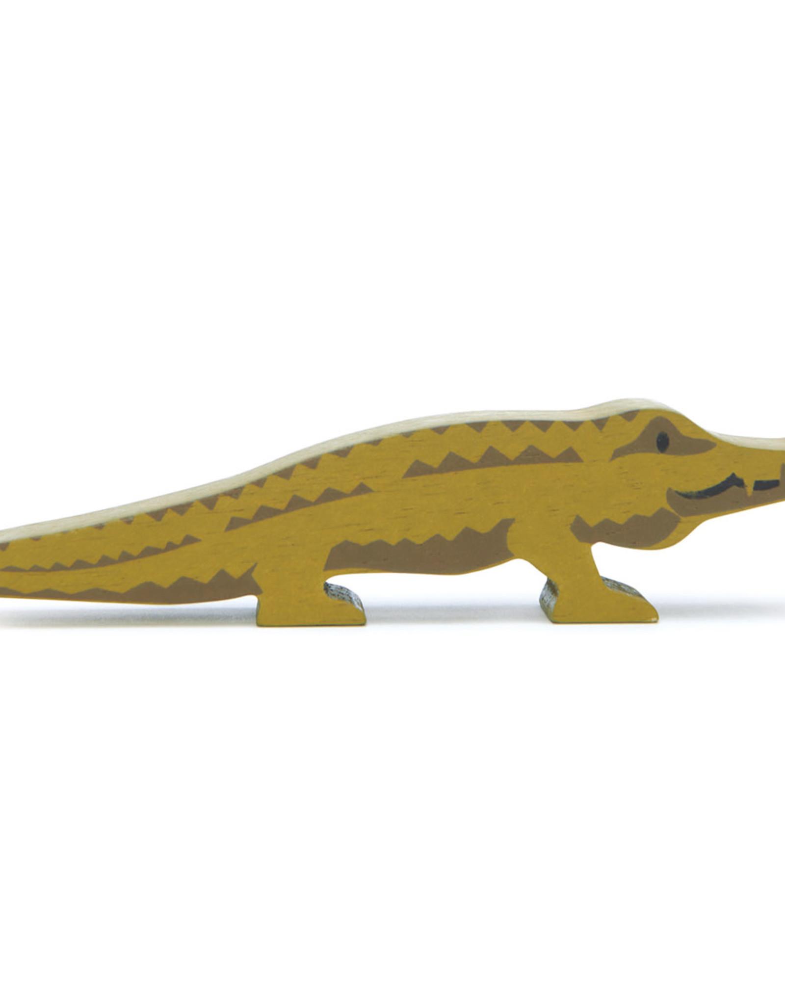 Safaridier Krokodil-eco rubberwood
