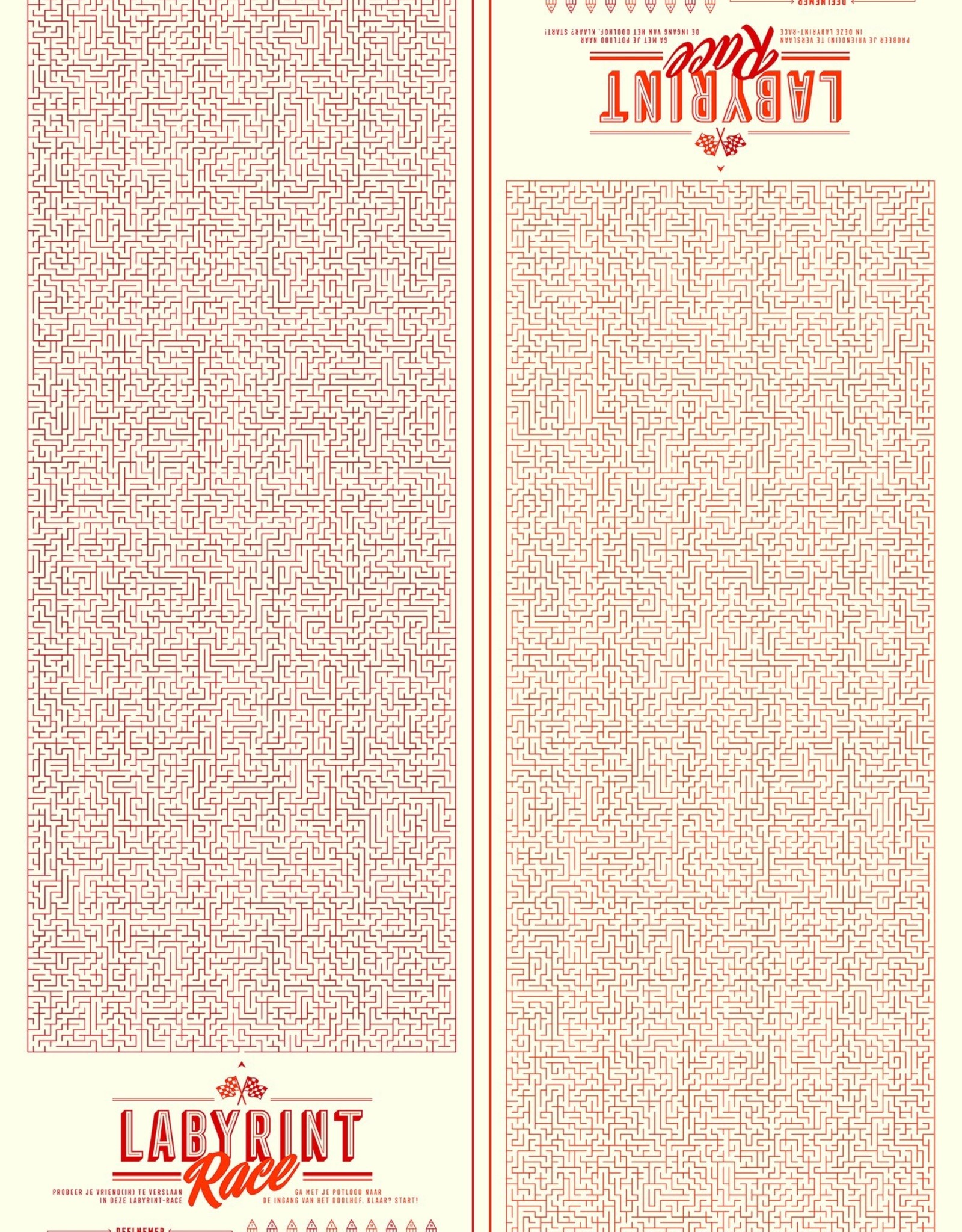 Stratier XL Spelposter STRATIER-labyrint