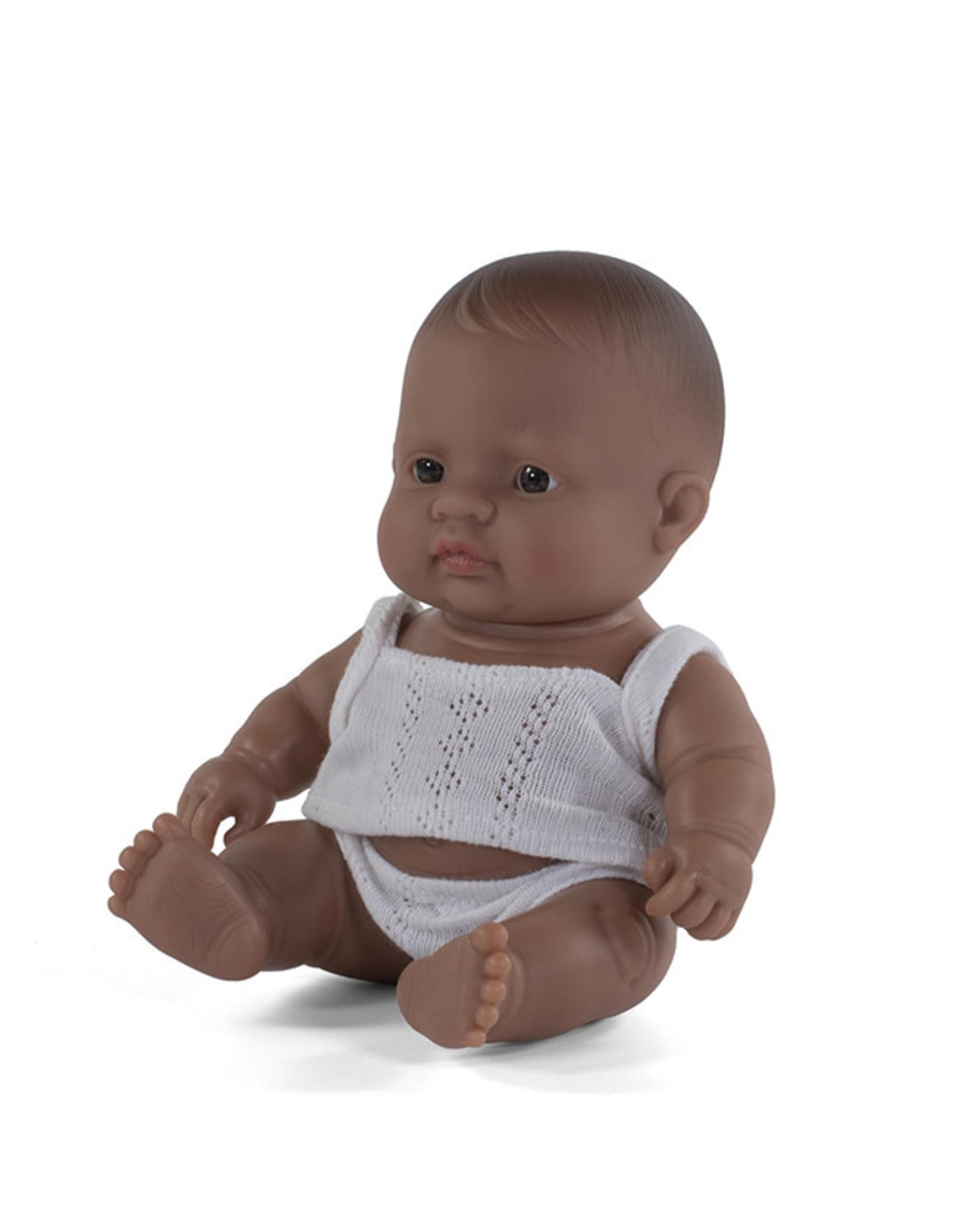 Babypop Latijns-Amerikaans meisje-21cm