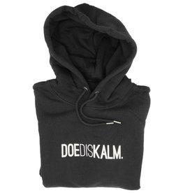 Kleir Hoodie Biokatoen DOEDISKALM-zwart
