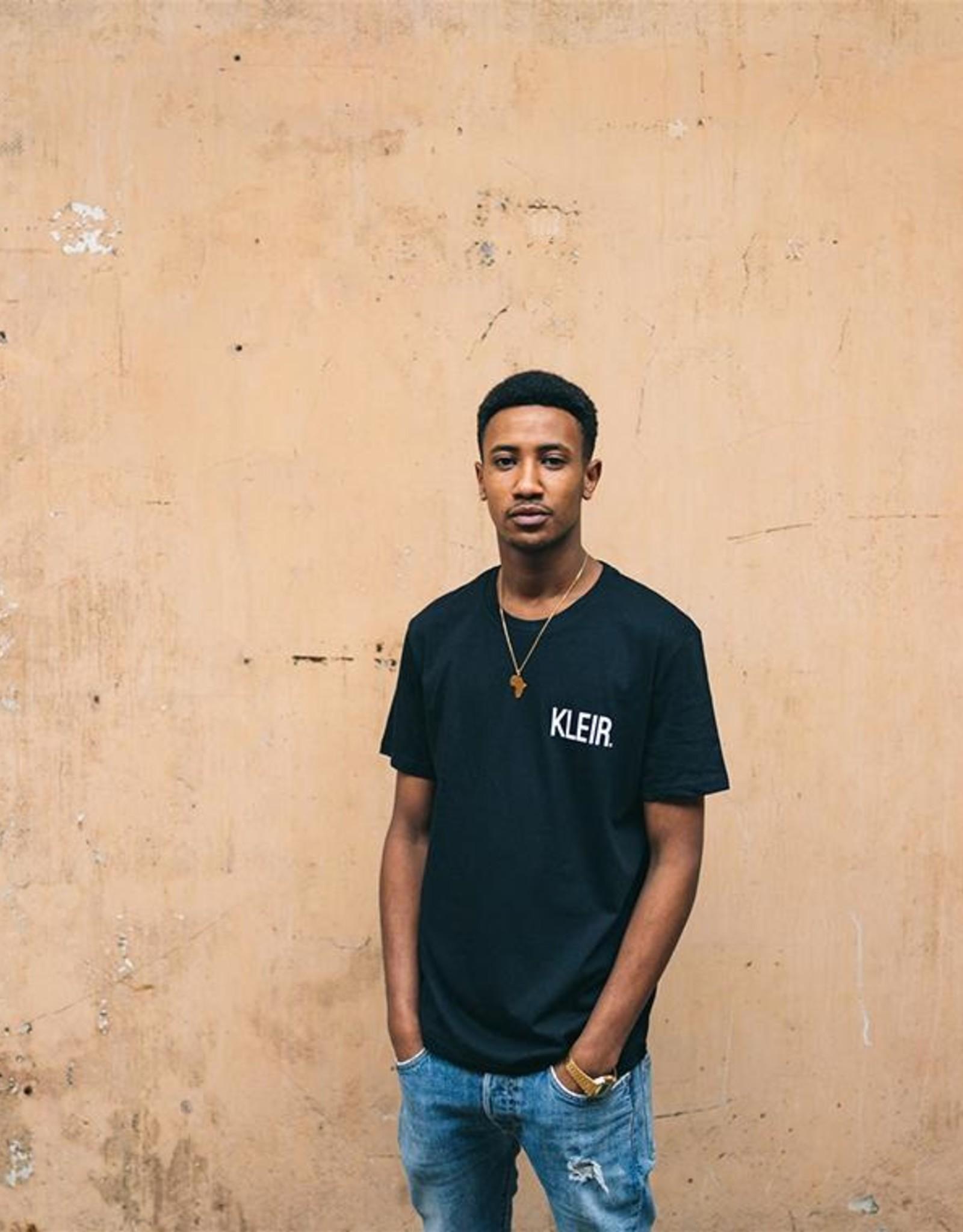 Kleir T-Shirt Biokatoen KLEIR-zwart