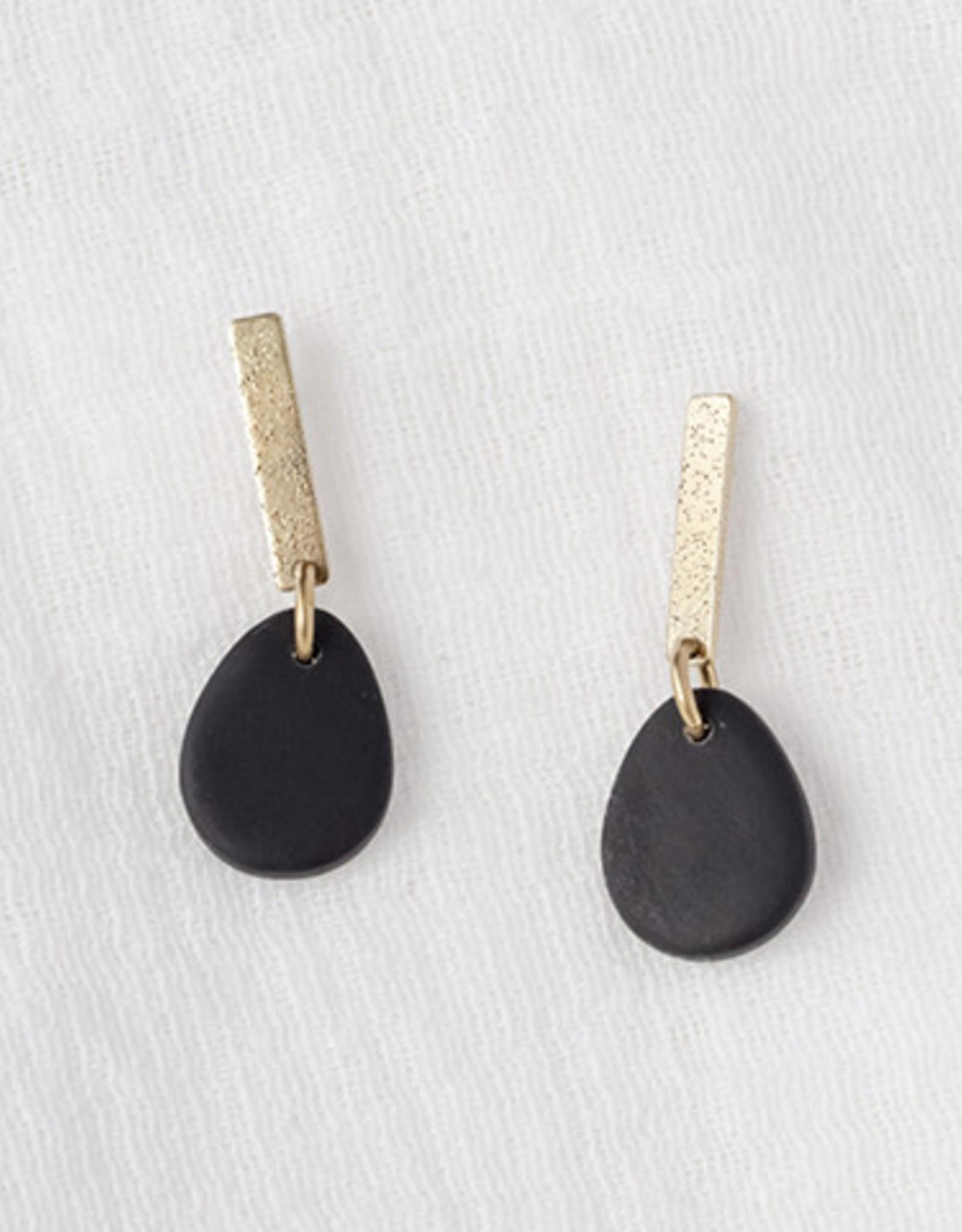 Iniminihomemade Oorbellen Tinted Perfect Drop-black