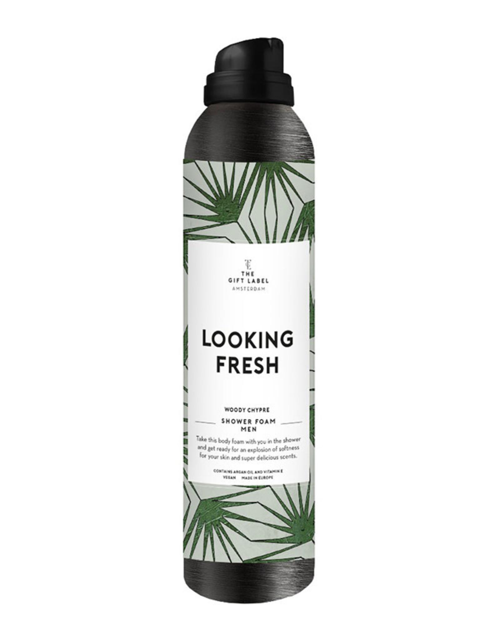 The Gift Label Body Foam Men-Looking fresh