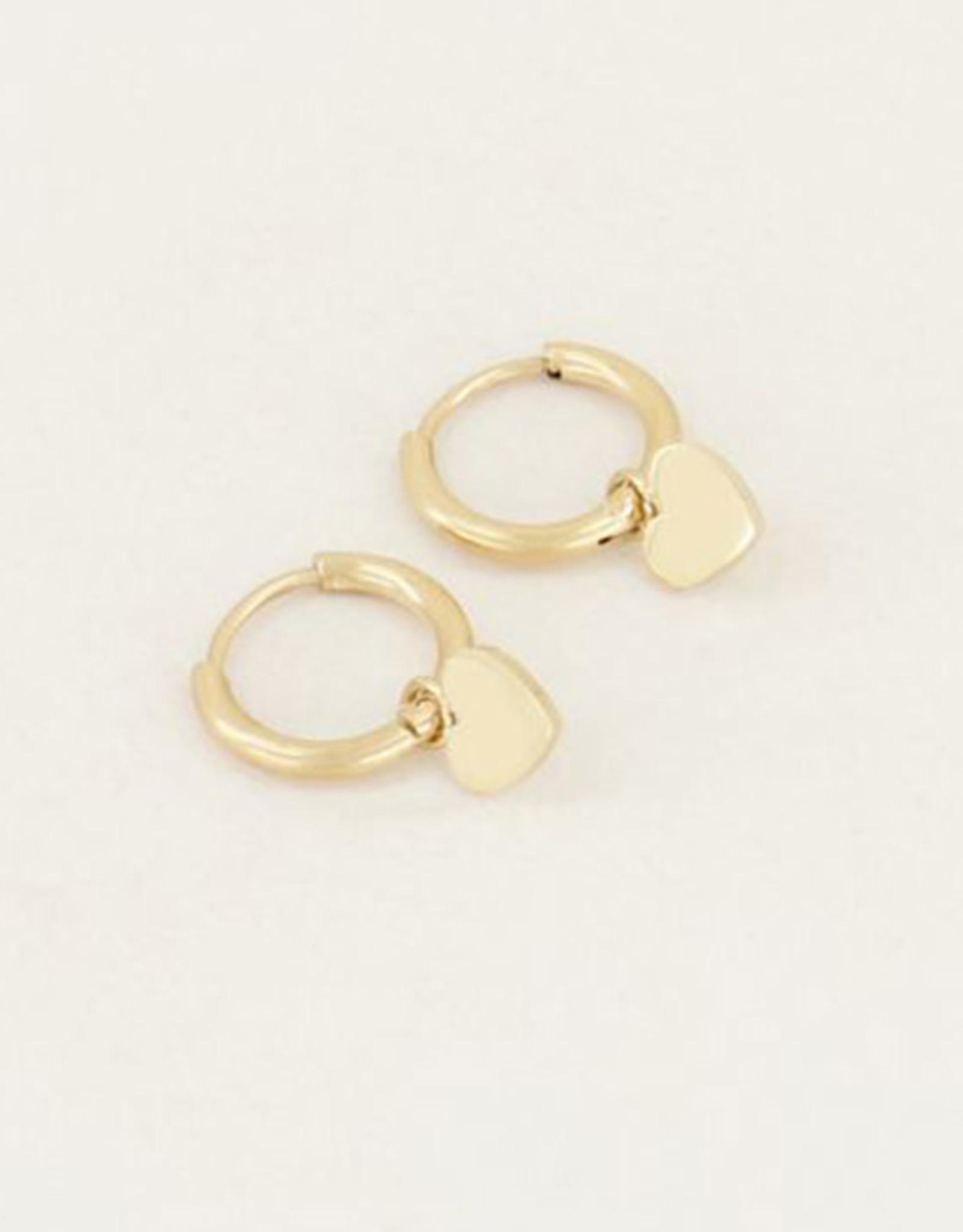 My Jewelry Oorbellen Creole Heart-gold