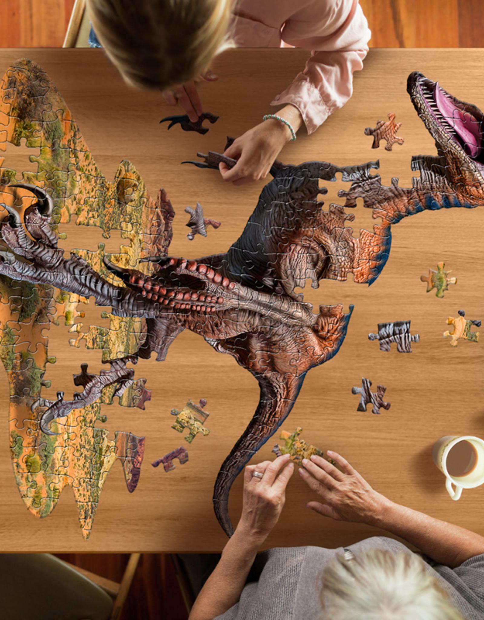 Puzzel I'am Little Dino Raptor 5jaar-100pcs.