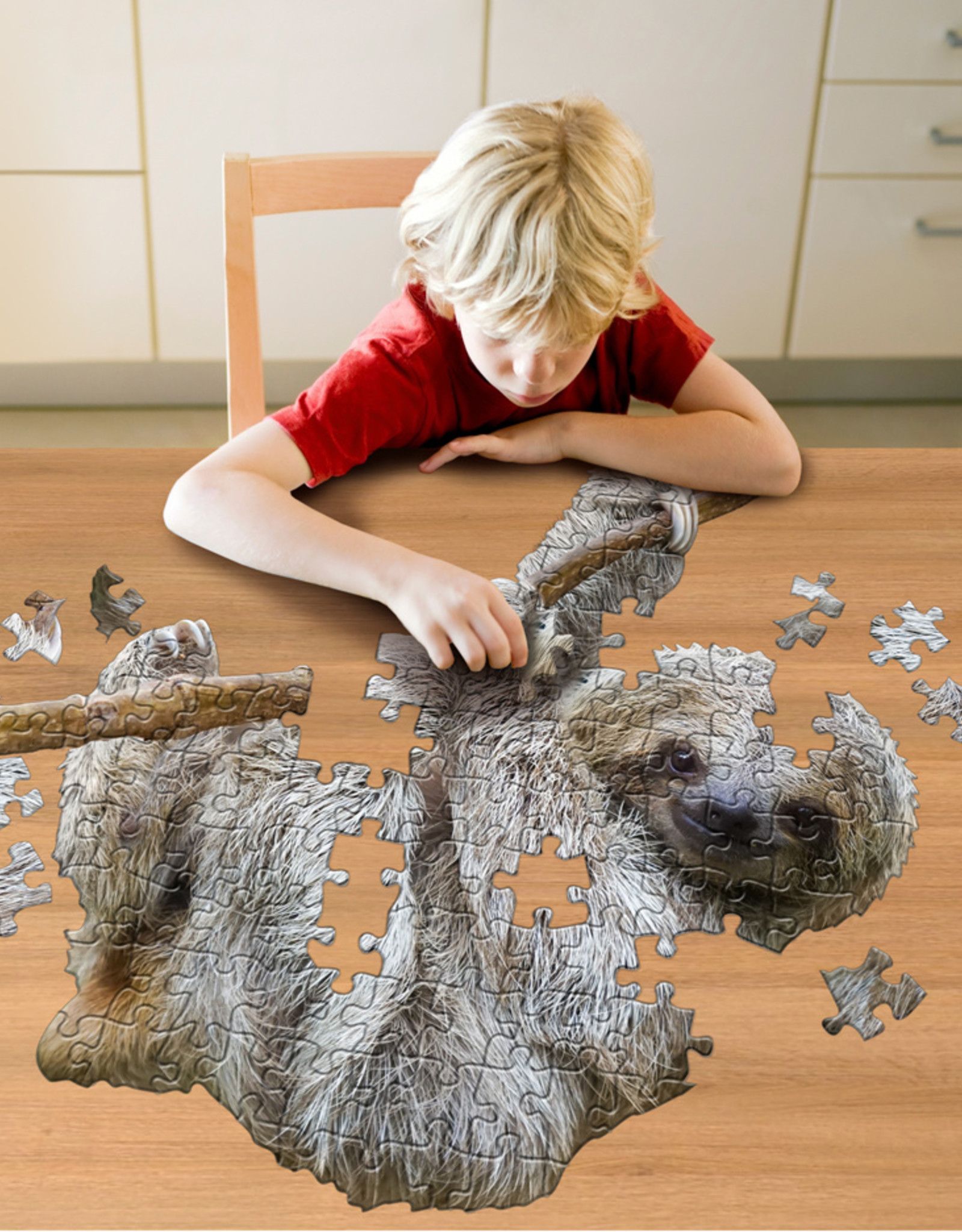 Puzzel I'am Little Luiaard 5jaar-100pcs.