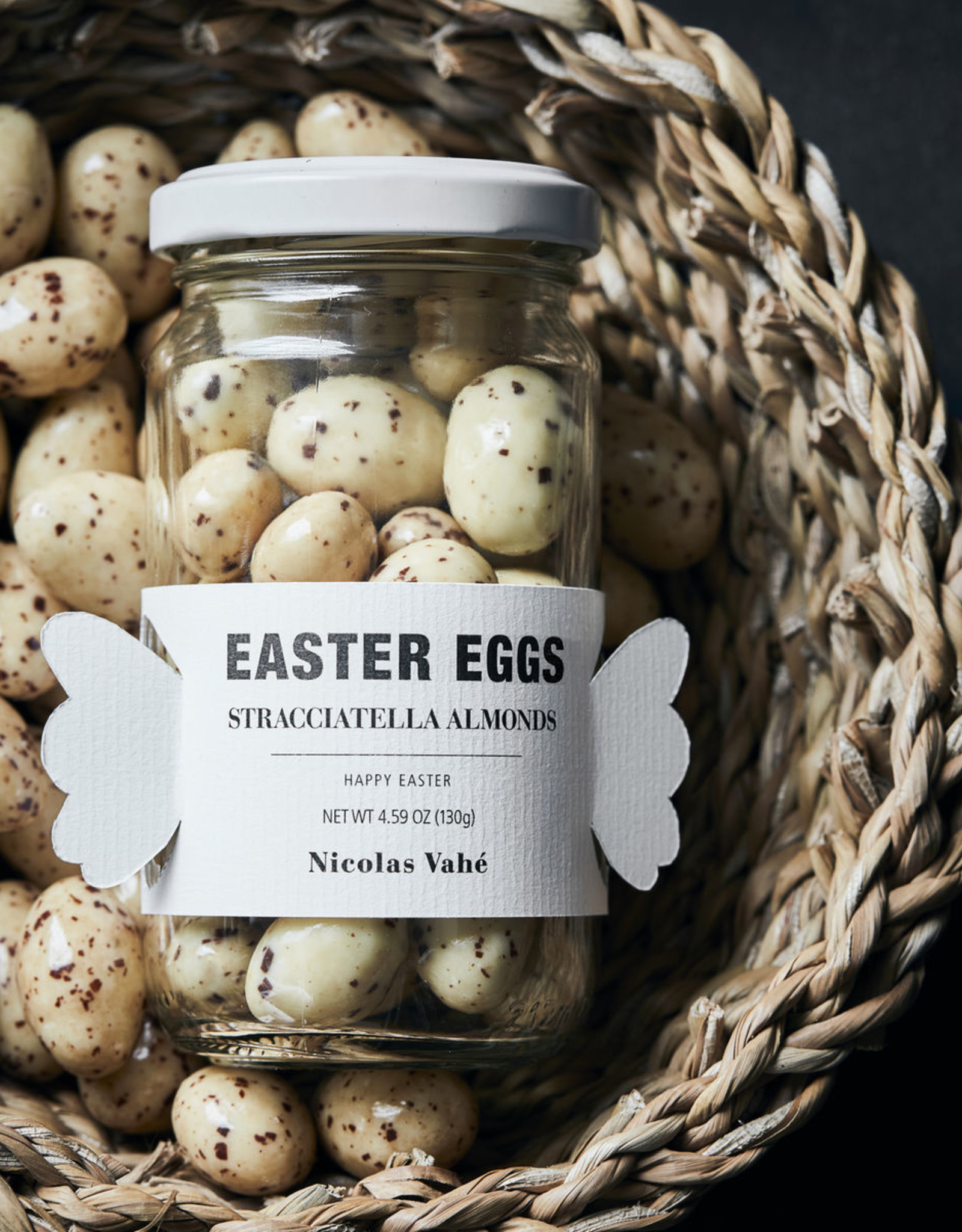 Nicolas Vahé Easter Eggs-straciatella almonds