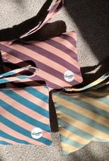 Happy Bag Clutch-stripes sunny yellow/mint