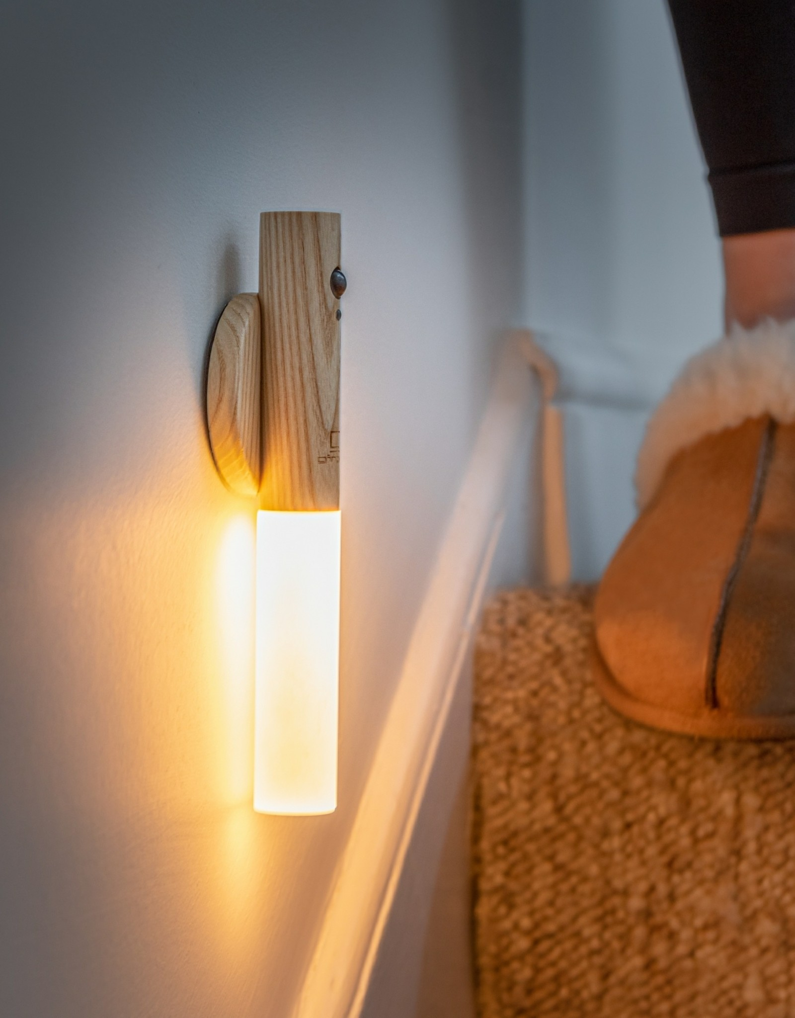 Ginkgo Smart Baton light-white ash