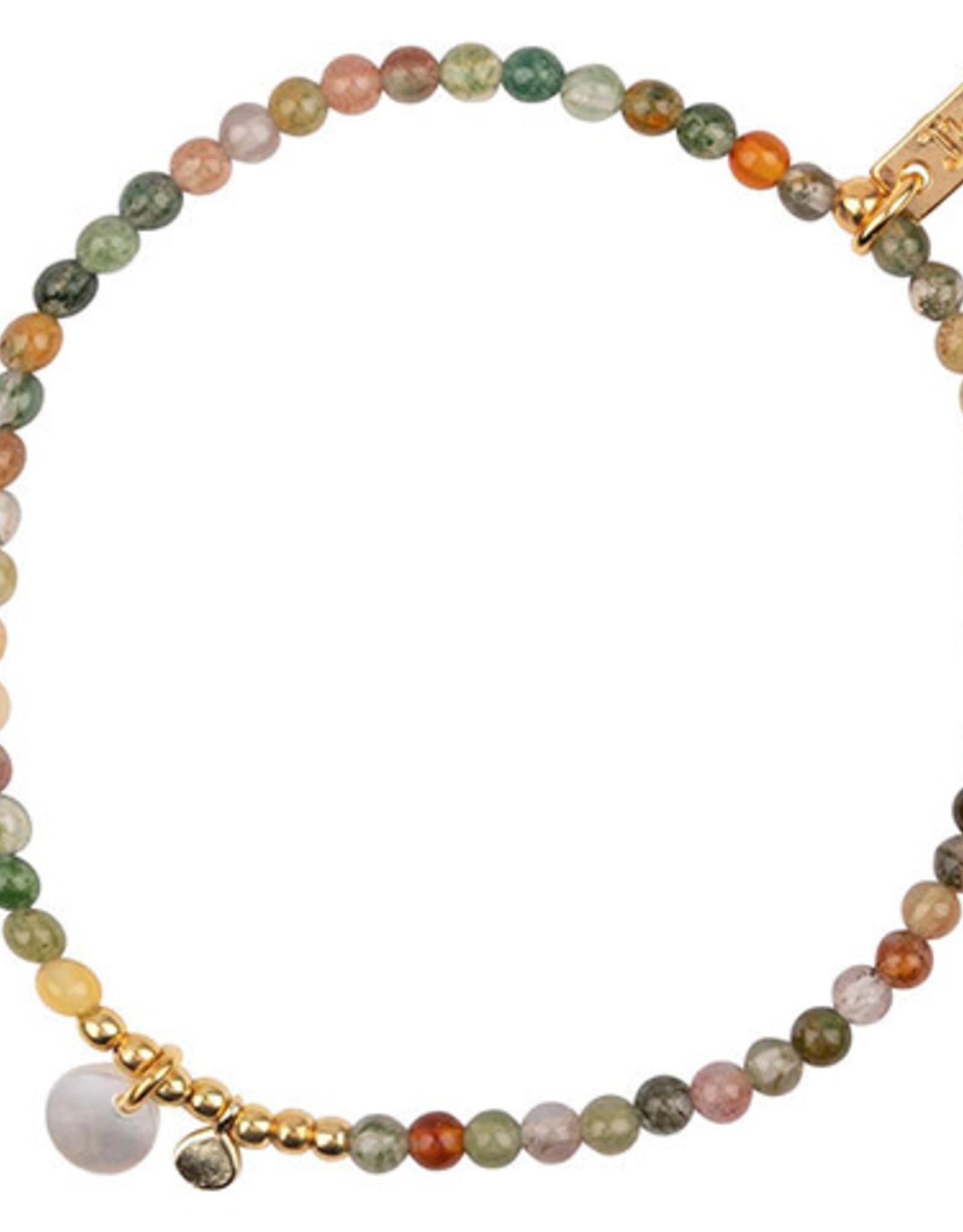 Jules Bean Armband Collectabean Mixed Mella-Indian Agathe /pearl