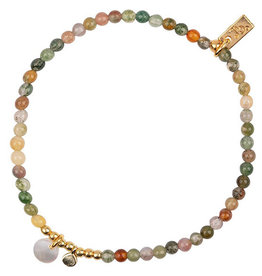 Jules Bean Armband Collectabean Mixed Mella-Indian Agathe /pearl