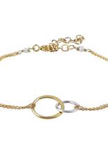 Jules Bean Armband Jules Bean Sans Fin-goud verguld/pearl