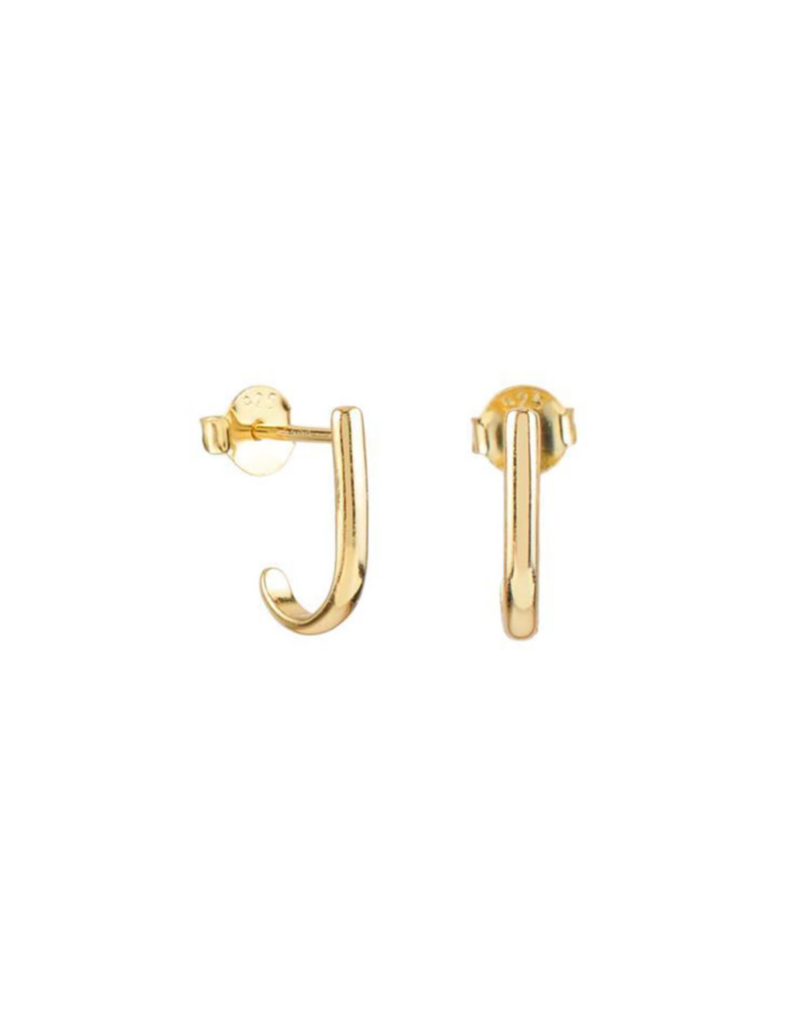 Jules Bean Oorbellen Studs Mia-gold