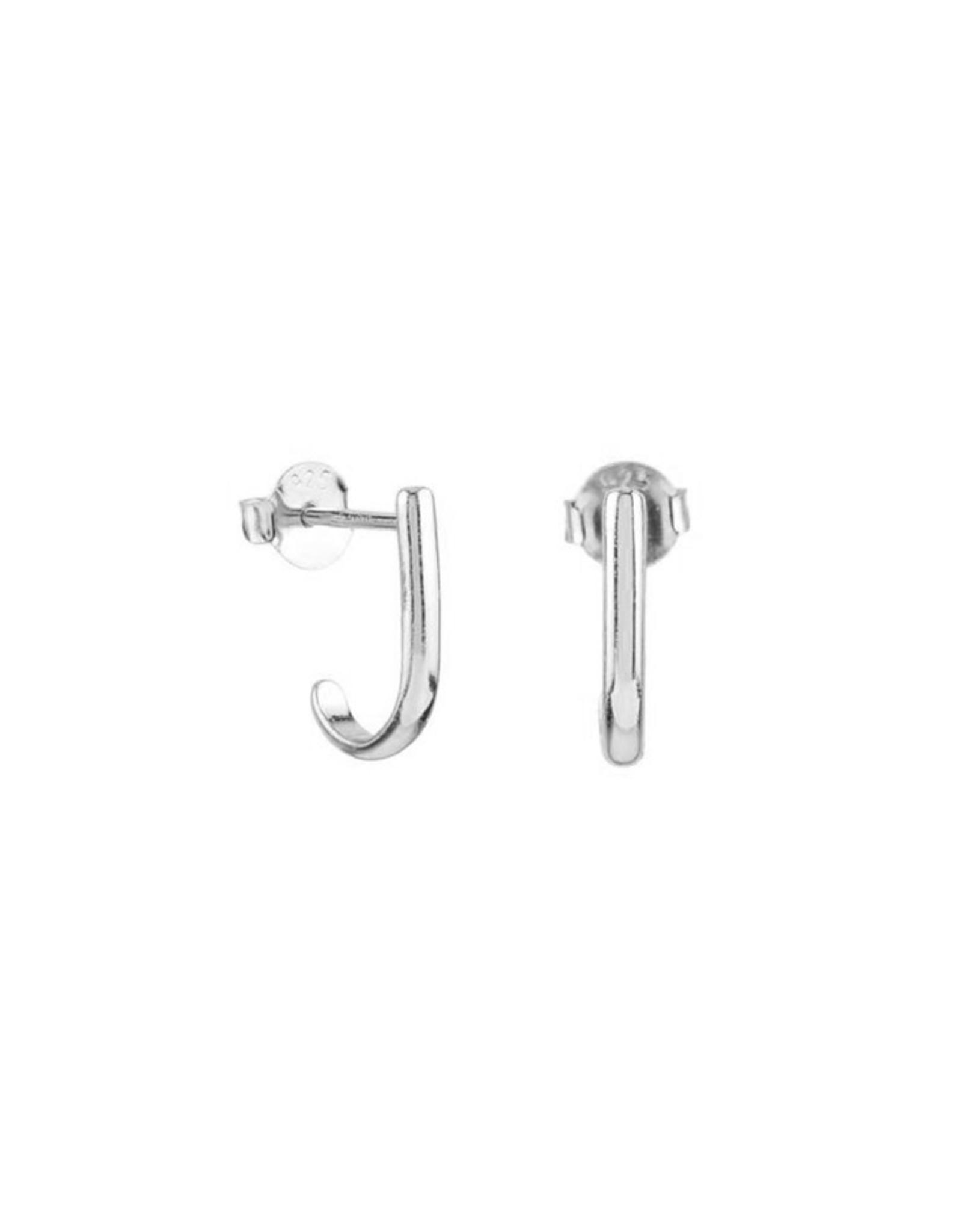Jules Bean Oorbellen Studs Mia-silver
