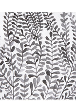 Räder Servet 33x33cm-foliage black