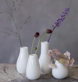 Räder Mini Vase Set- 4stuks white