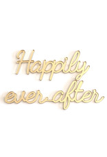 Goegezegd Quote Happily ever after-gold