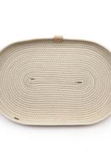 Koba Handmade Plate Oval Low-boho 35x20cm
