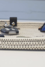 Koba Handmade Plate Oval Low-ecru 35x20cm