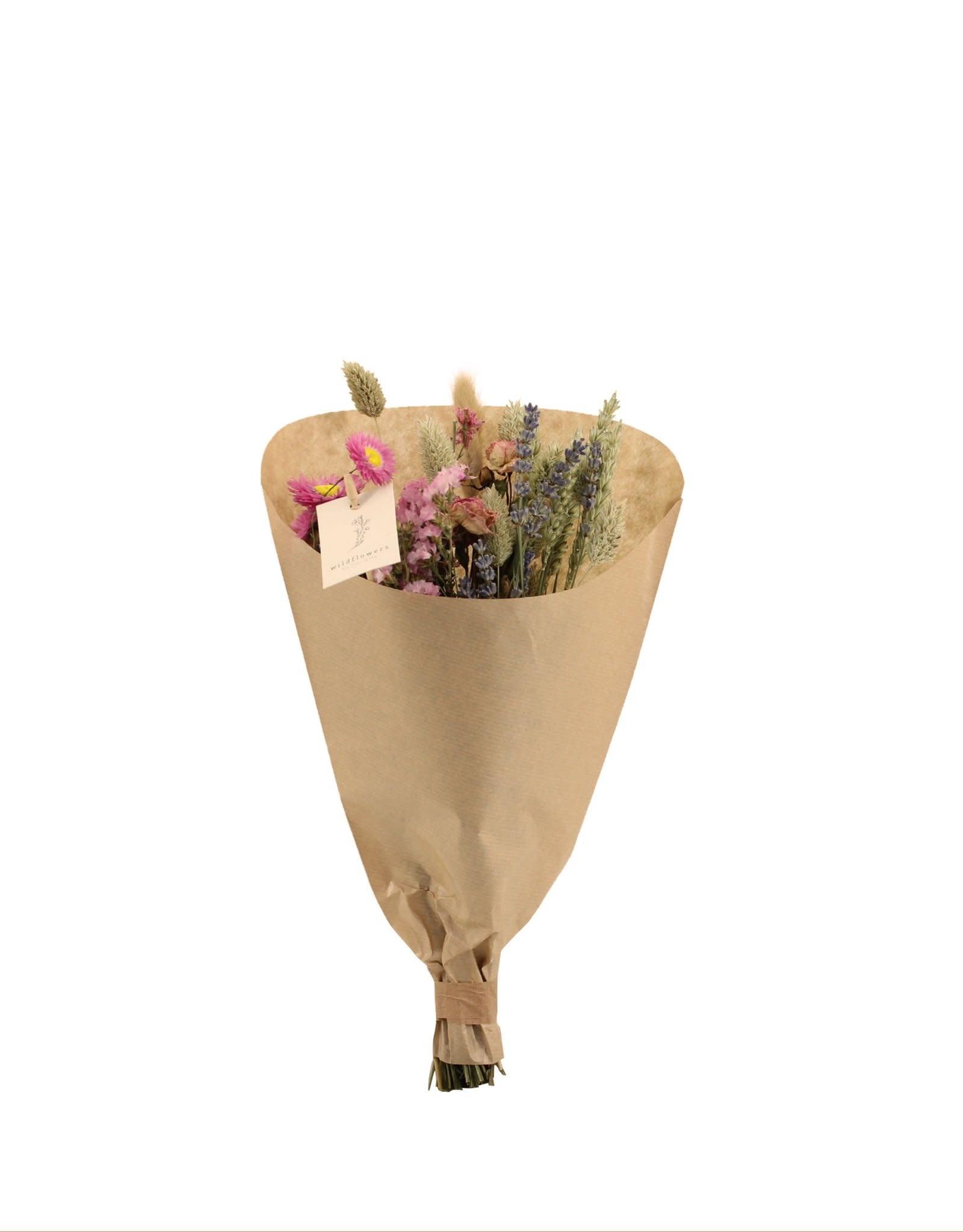 Boeket Droogbloemen Field Bouquet Small-pink