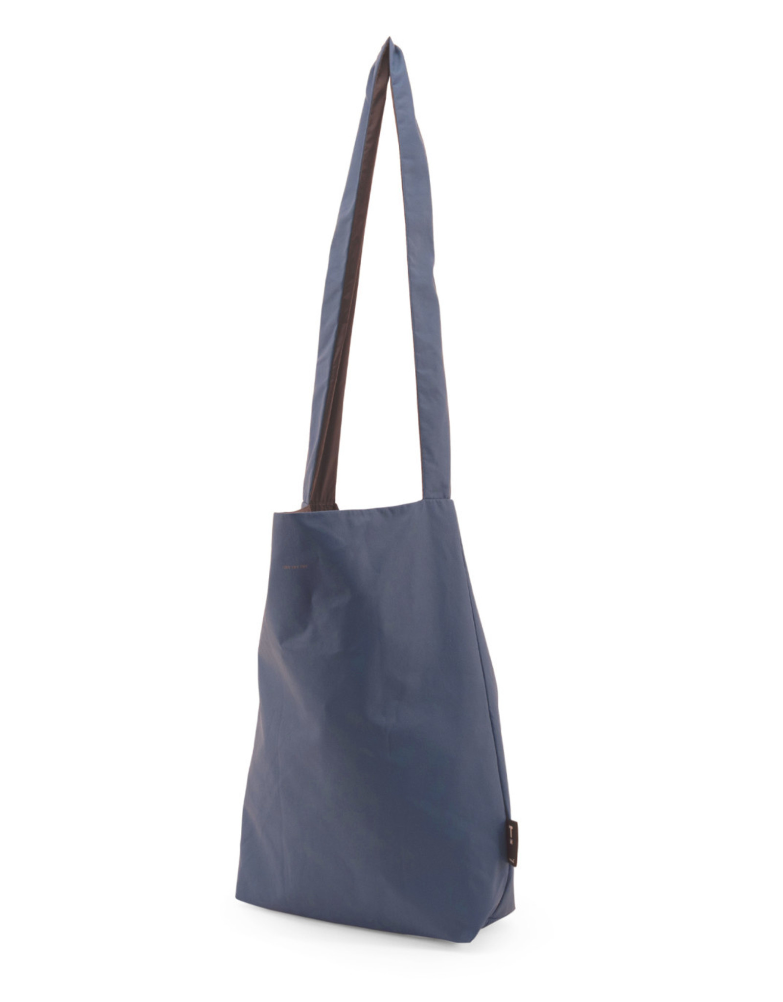 Tinne+Mia Feel Good Bag with quote-dutch blue