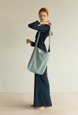Tinne+Mia Feel Good Bag with quote-blue haze