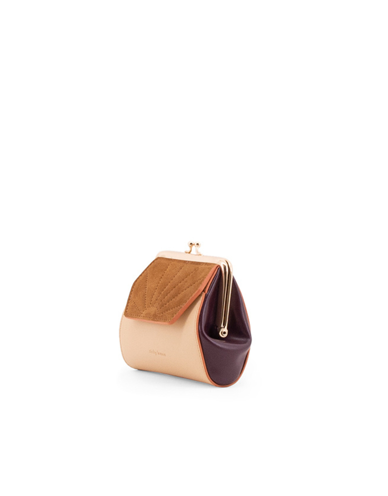 The Sticky Sis Club The Sticky Sis Club wallet-clay beige/grape purple