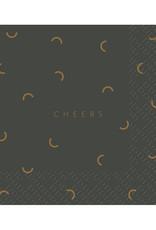 Servet Cheers 33x33cm-grey