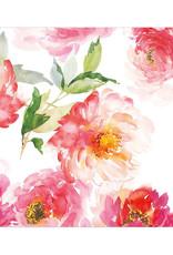 Servet Bloom 33x33cm-white