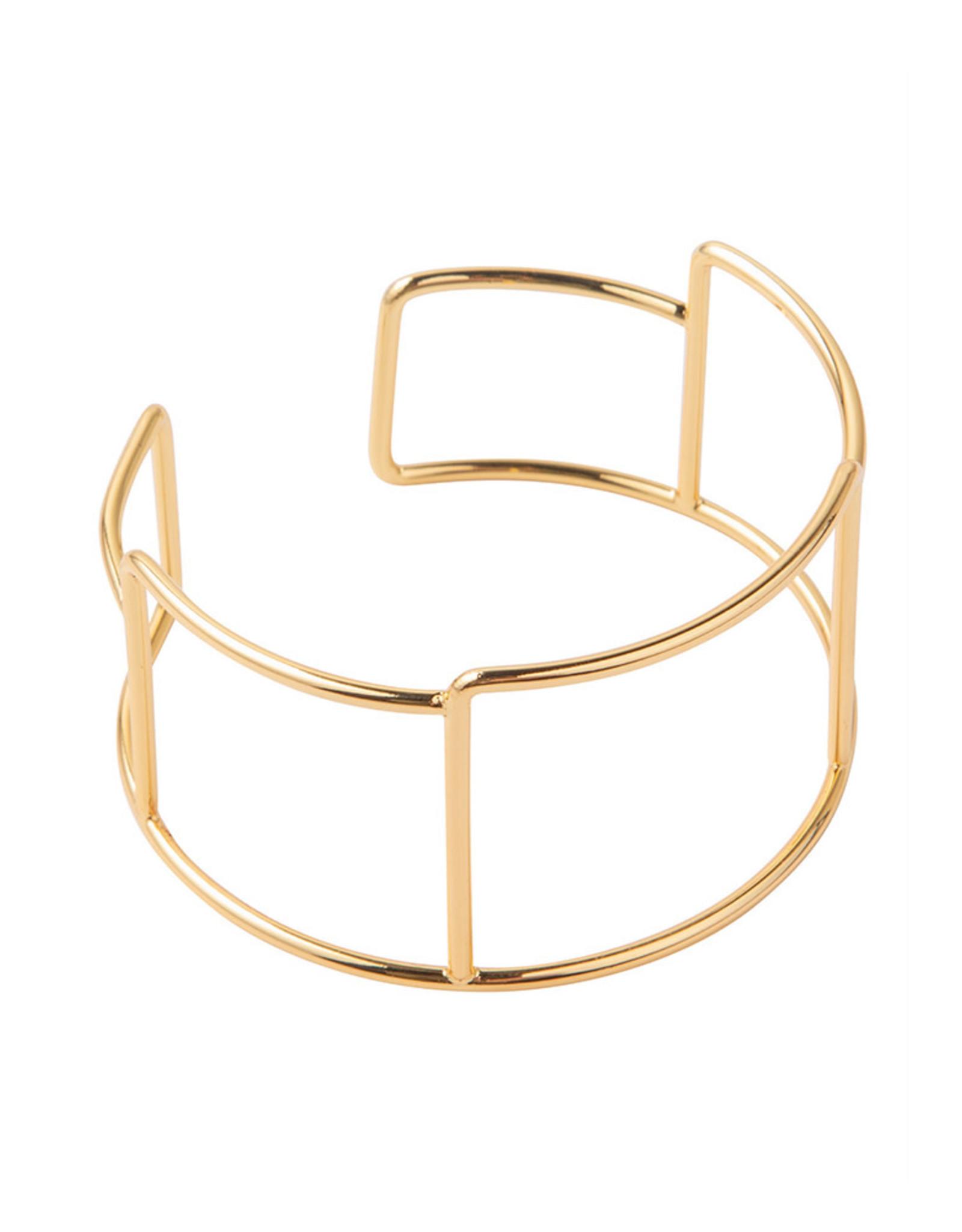 Ellen Beekmans Armband Bangle Block-gold