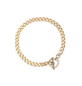 Ellen Beekmans Armband Schakel Strong-gold