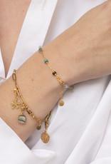 Ellen Beekmans Armband Gemstones-gold/mixed colors