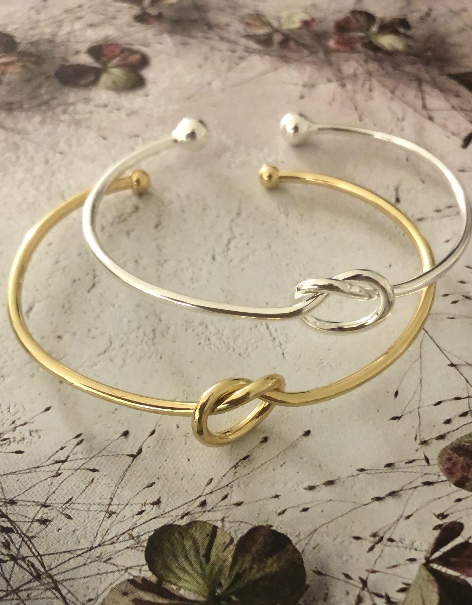 Ellen Beekmans Armband Bangle Fine Knot-gold